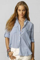 Denim & Supply Gilbert Checked Utility Shirt - Lyst