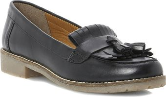 Dune Libertie Leather Loafers - Lyst