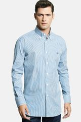 Ferragamo Slim Fit Sport Shirt - Lyst