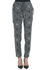 Haute Hippie Printed Silk Pants - Lyst