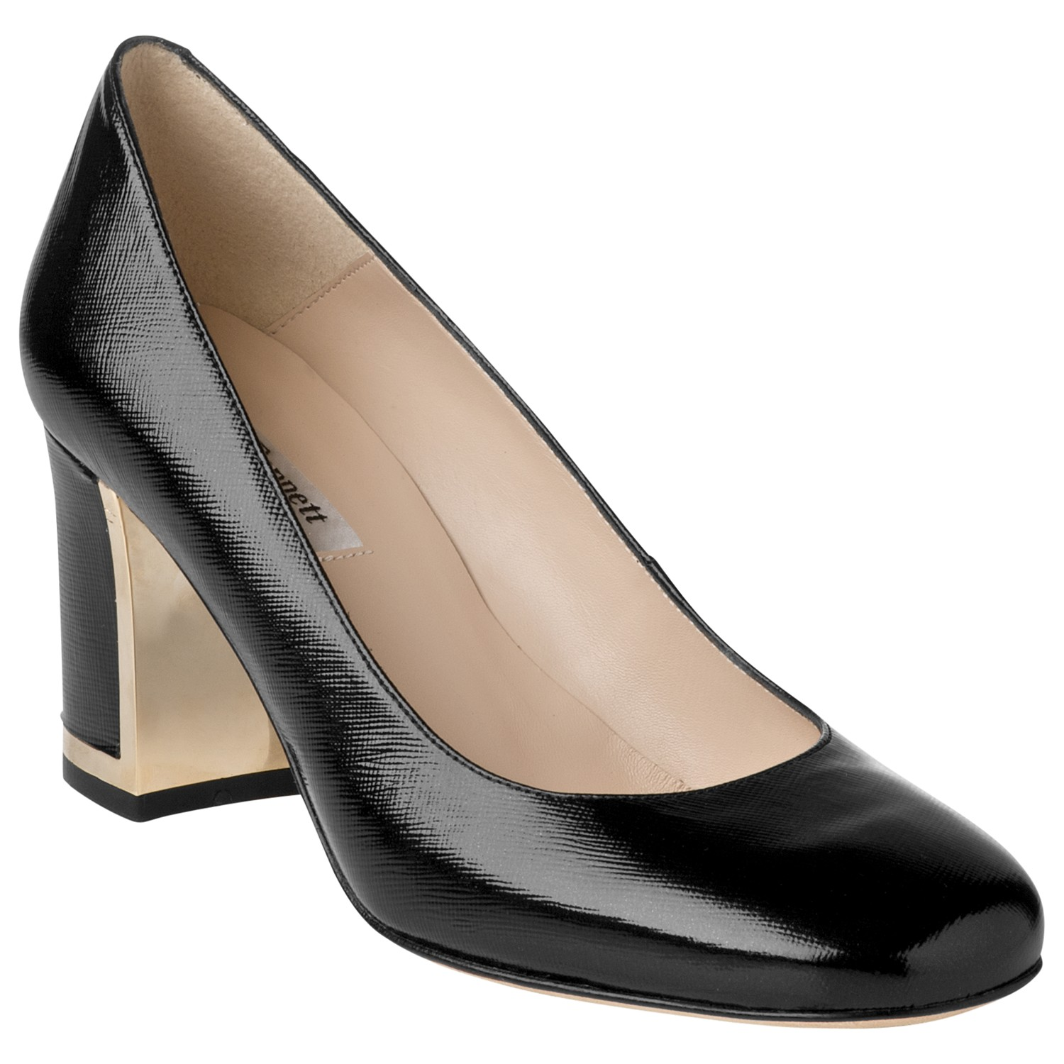 7a93bfab4a50 L.K.Bennett Tia Court Shoes in Black - Lyst