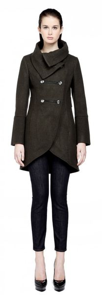 Mackage Dianabf3 Wool Military Style Coat - Lyst