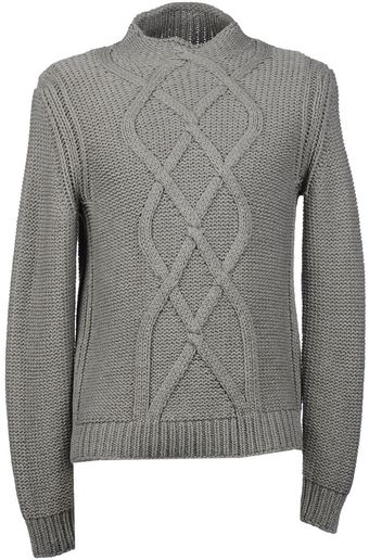 Malo High Neck Sweater - Lyst