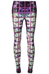 Mary Katrantzou Rose Print Legging - Lyst