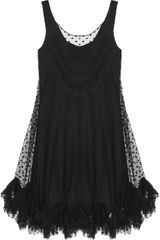 Milly Lisette Polka Dot Tulle Dress - Lyst