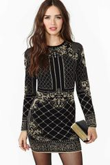 Nasty Gal Dark Charms Sweater Dress - Lyst