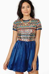 Nasty Gal Aruba Sequin Dress - Lyst