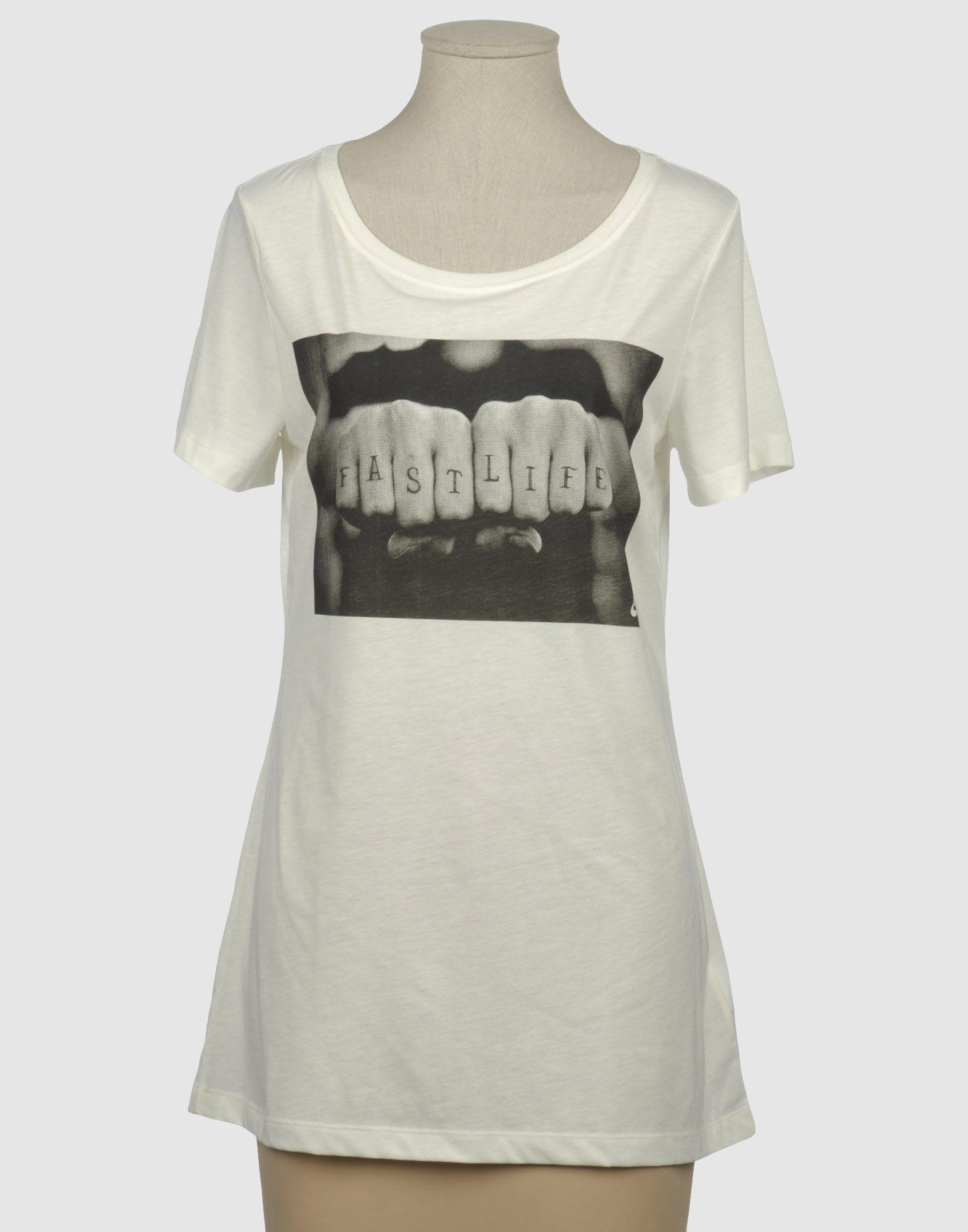 Nike short sleeve t shirt in white ivory save 4 lyst for Nike short sleeve shirt