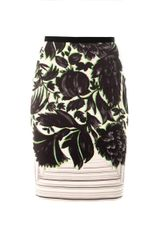 Peter Pilotto Erin Canopy Print Pencil Skirt - Lyst