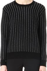Theory Jaidyn Striped Jumper - Lyst