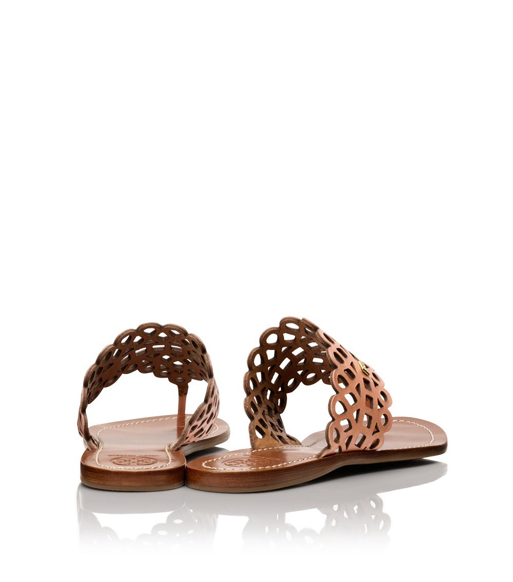 63ce781fdd18 Lyst - Tory Burch Davy Flat Thong Sandal in Pink