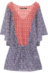 Vix Agave Vintage Printed Cotton and Silkblend Kaftan - Lyst