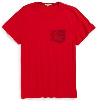 Burberry Brit Lansley Logo Stamp Tshirt - Lyst