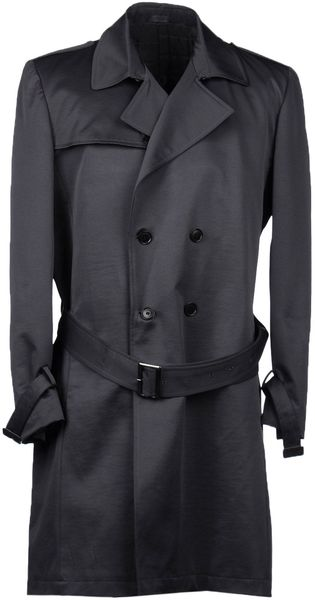Calvin Klein Full-Length Jacket - Lyst