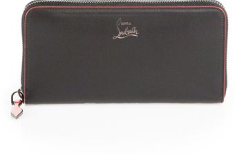 Christian Louboutin Panettone Zip around Wallet - Lyst