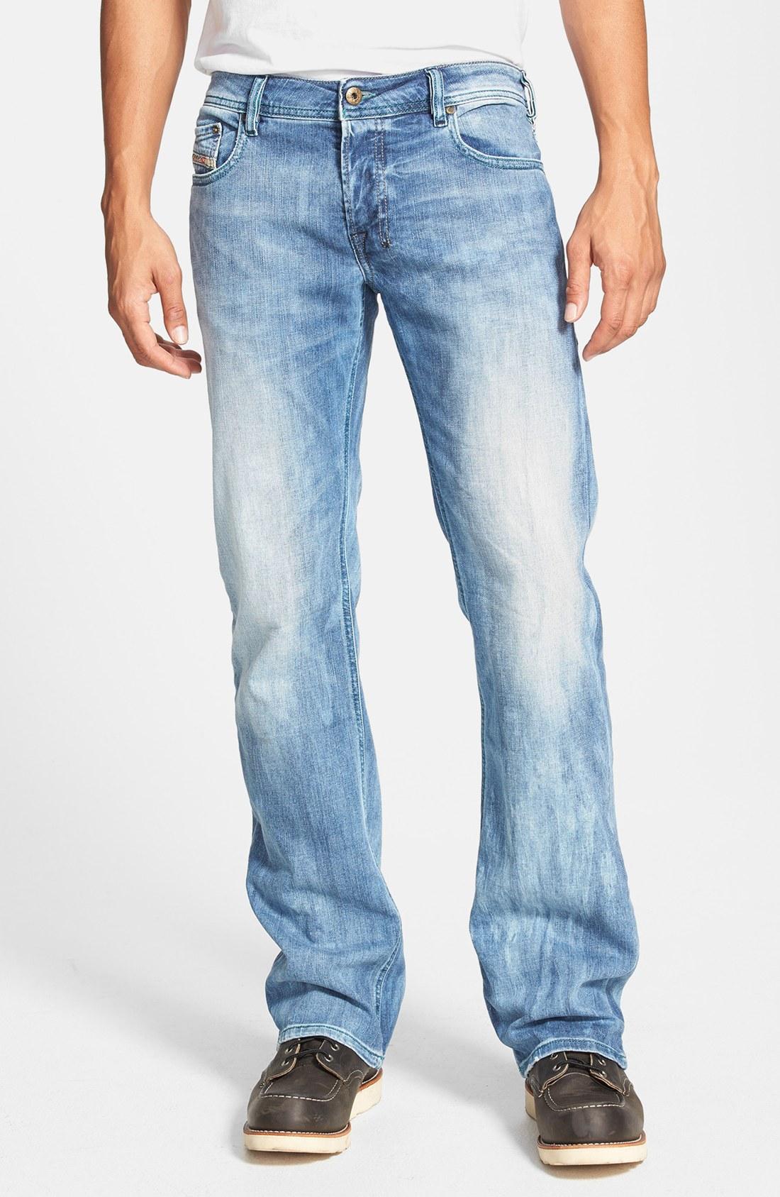 Diesel Zatiny Bootcut Jeans in Blue for Men | Lyst Diesel Jeans Men Bootcut
