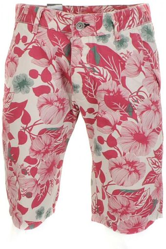 Dr. Denim William Chino Shorts Flower Print - Lyst
