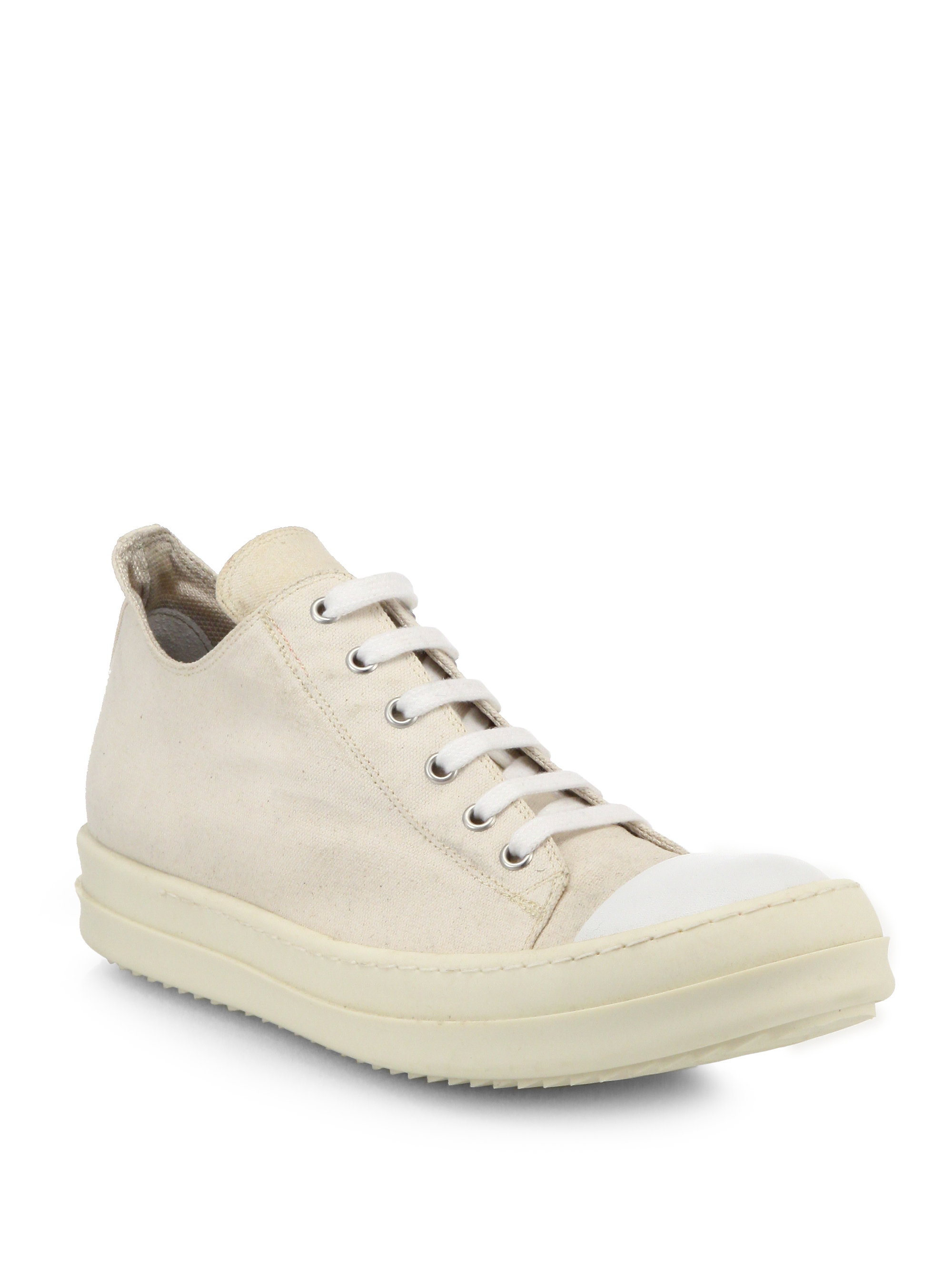 Rick OwensLow Sneakers / Milk LtmxcKlVi4