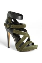 Dv By Dolce Vita Scotlyn Leather Suede Sandal - Lyst