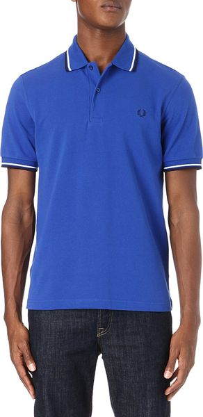 Fred Perry Classicfit Twin Tip Polo Shirt - Lyst