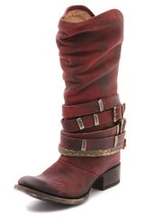 Freebird By Steven Drover Wrap Tall Boots - Lyst