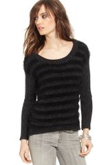 Guess Striped Sweater - Lyst