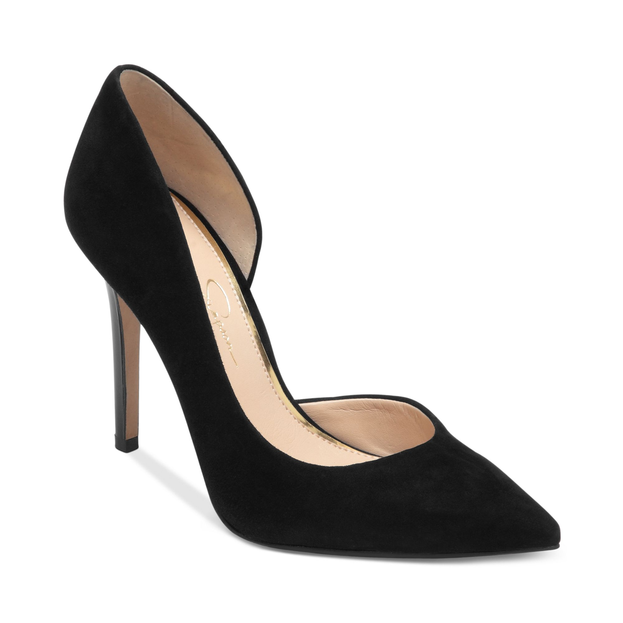 01bbeb27b67 Lyst - Jessica Simpson Claudette Dorsay Pumps in Black