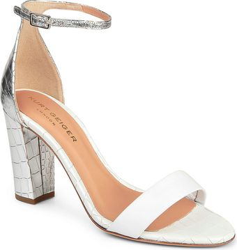 Kurt Geiger Isabella Leather Sandals - Lyst
