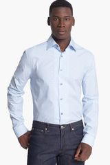Paul Smith London Slim Fit Dot Stripe Dress Shirt - Lyst