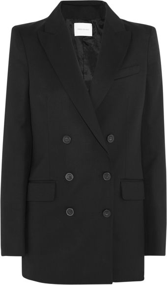 Pierre Balmain Double Breasted Wool Blend Jacket - Lyst