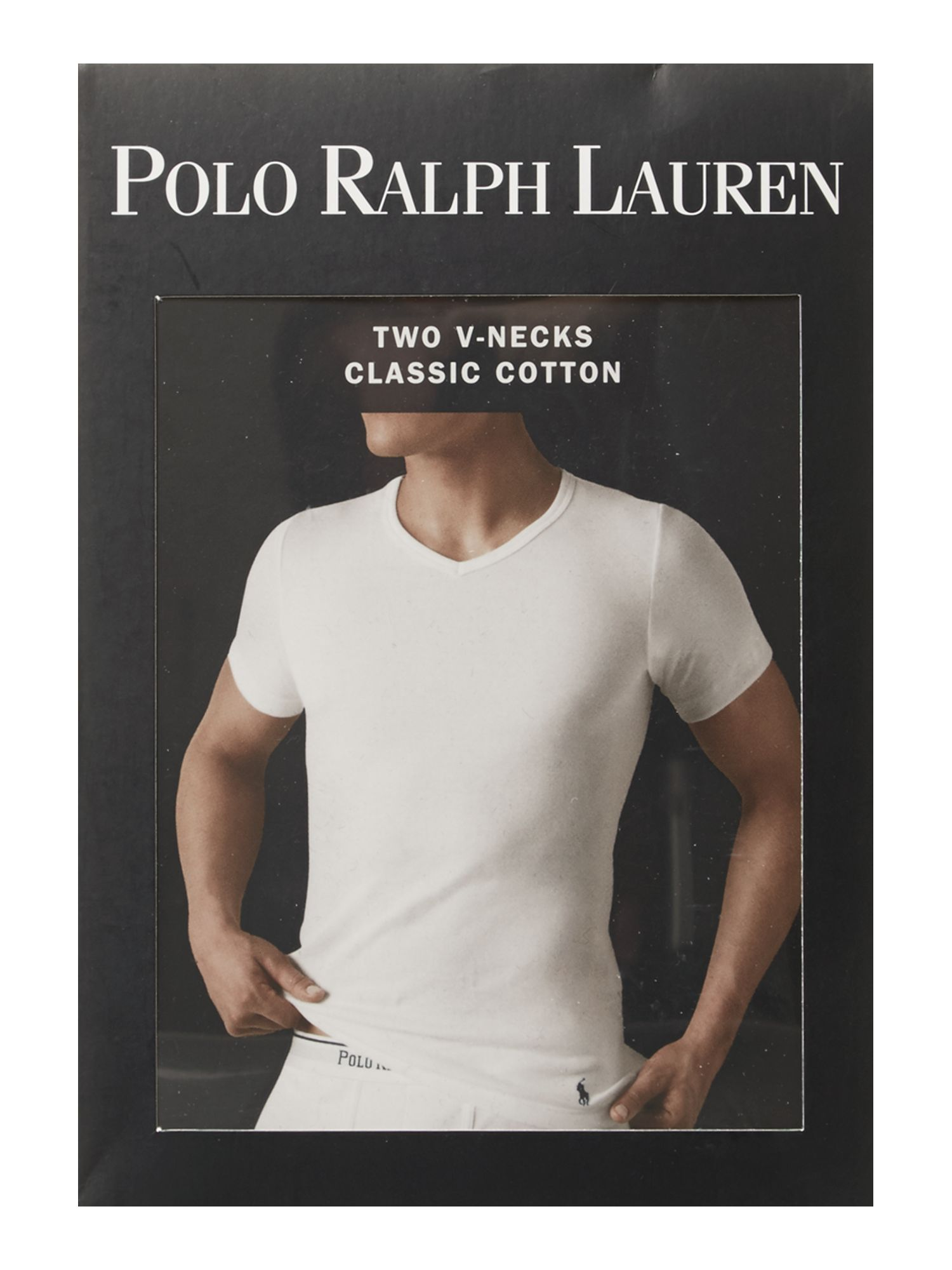 Lyst Polo Ralph Lauren 2 Pack Classic V Neck T Shirt In