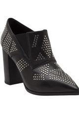 See By Chloé Studded Pointed Toe Bootie - Lyst