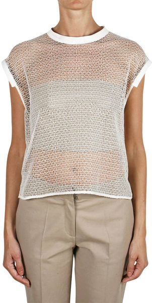 Ter Et Bantine Net Cotton Top - Lyst