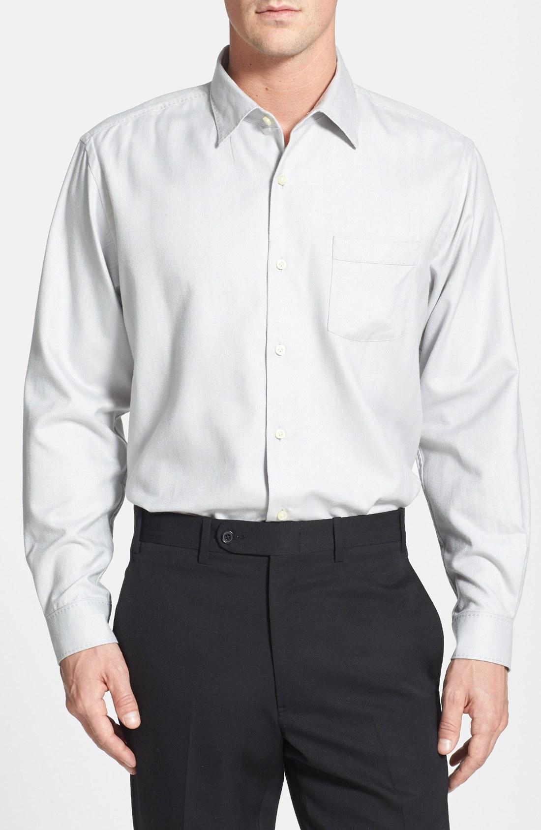 Tommy Bahama Harbor Island Woven Silk Cotton Sport Shirt