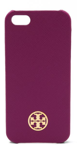 Tory Burch Robinson Leather Hardshell Iphone 5 5s Case - Lyst
