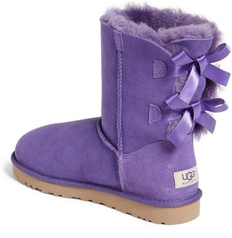 Ugg Bailey Bow Boot In Purple Purple Reign Lyst