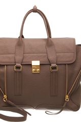 3.1 Phillip Lim Pashli Satchel with Strap - Lyst