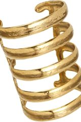 Aurelie Bidermann Gold Esteban Cuff - Lyst