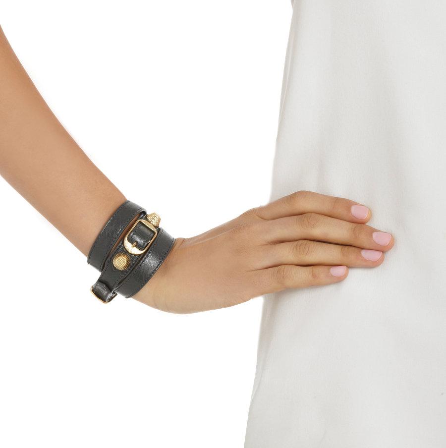Womens Arena Giant Double Tour Bracelet Balenciaga xhAq5S6Tgs