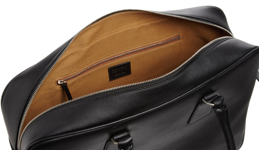 Barneys New York Mens Leather Tote Bag I5ftOlg
