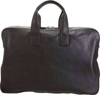 Barneys New York Briefcase Messenger Bag - Lyst