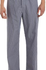 Barneys New York Check Pajama Pants - Lyst