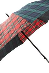 Barneys New York Tartan Stick Umbrella - Lyst