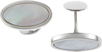Barneys New York Mother Of Pearl Cufflinks - Lyst