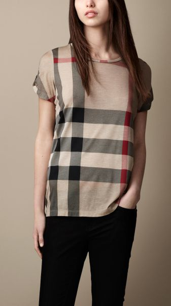 Burberry T Shirt Womens