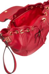 Christian Louboutin Dompteuse Convertible Backpac Bucket Bag - Lyst