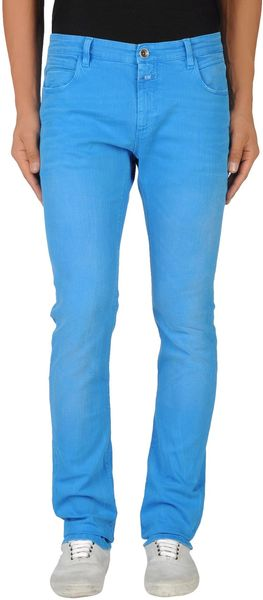 Closed Denim Trousers - Lyst