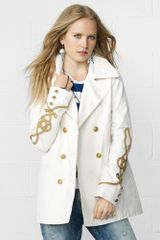 Denim & Supply Nautical Peacoat - Lyst