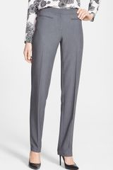 DKNY Straight Leg Suiting Pants - Lyst