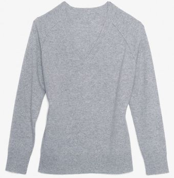 Exclusive For Intermix Cashmere V Neck Sweater - Lyst